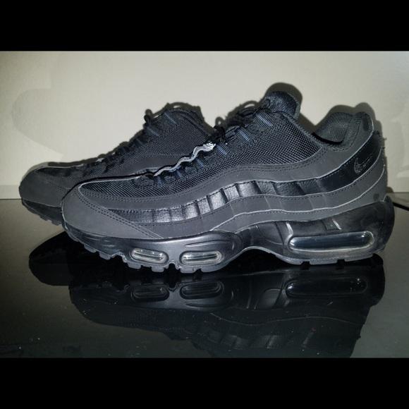 3a14eb1906 Nike Air Max 95 All Black Size 11. M_5c60bb87df03071a98ef5ea0